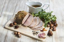 Plat : Rôti de bœuf aux marrons