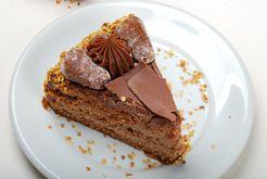 Dessert : Gâteau à la crème de marrons
